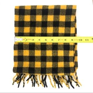 GAP Accessories - GAP Yellow Black Plaid Check Bumblebee Scarf
